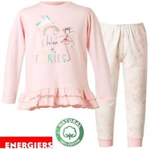 Πιτζάμα κοριτσίστικη με τύπωμα Believe Energiers