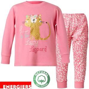 Πιτζάμα κοριτσίστικη με τύπωμα Animal Print ENERGIERS