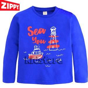 Μπλούζα μακρυμάνικη θάλασσα ZIPPY