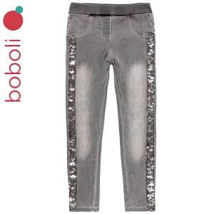 Παντελόνι μακρύ τζιν σε στενή γραμμή κοριτσίστικο Boboli