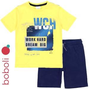 Σετ μπλούζα με κοντό παντελόνι αγόρι dream Boboli