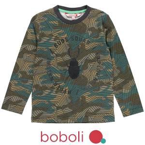 Μπλούζα μακρυμάνικη αγορίστικη Hyper Boboli