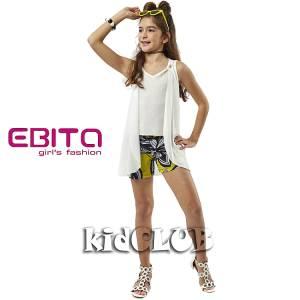 Σετ μπλούζα και σορτς κορίτσι Chic EBITA