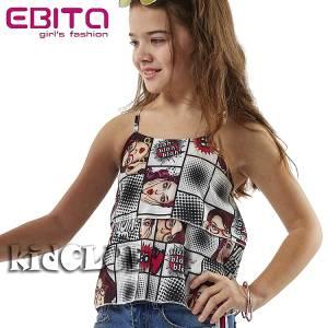 Μπλούζα αμάνικη κορίτσι με τύπωμα Ops EBITA