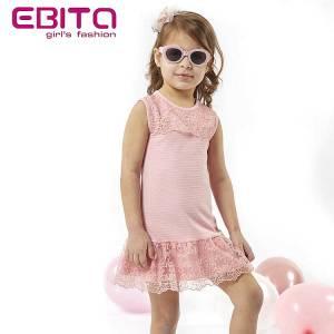 Φόρεμα κορίτσι με δαντέλα EBITA