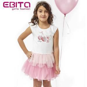 Φόρεμα τούλι κορίτσι EBITA