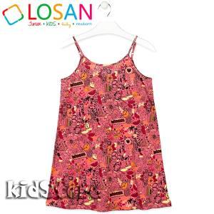 Φόρεμα κορίτσι σταμπωτό LOSAN