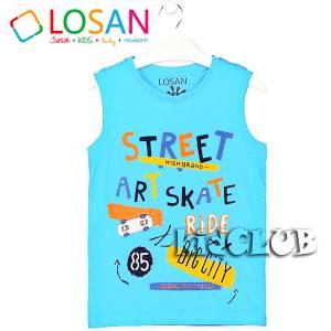 Μπλούζα με τιράντες αγόρι τύπωμα Ride Losan