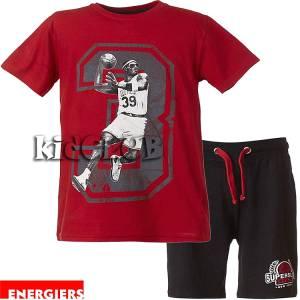 Σετ μπλούζα με κοντό παντελόνι αγόρι με τύπωμα Celtics ENERGIERS