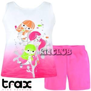 Σετ μπλούζα και κολάν κορίτσι με τύπωμα Sea TRAX