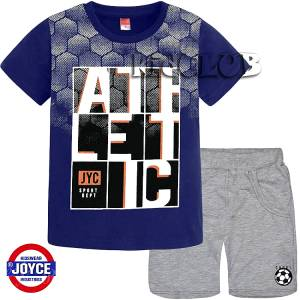 611a020d766 Σετ μπλούζα με κοντό παντελόνι αγόρι με τύπωμα sport Joyce
