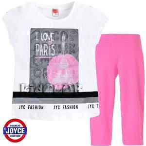 Σετ μπλούζα και κολάν κορίτσι με τύπωμα France  Joyce