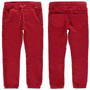 Παντελόνι μακρύ με λάστιχο Regular fit για αγόρι Boboli