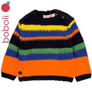 Πλεκτό πουλόβερ για αγόρι Boboli