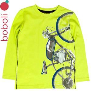 Μπλούζα μακρυμάνικη αγορίστικη με τύπωμα Boboli