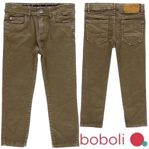 Παντελόνι μακρύ σε στενή γραμμή αγορίστικο Boboli