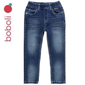 Παντελόνι τζιν μακρύ με λάστιχο στη μέση για αγόρι Boboli
