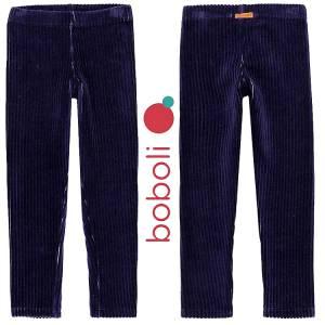 Παντελόνι μακρύ βελούδο ριγέ τύπου κολάν κοριτσίστικο Boboli