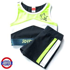 Σετ μπλούζα και σορτς κορίτσι σταμπωτό Sport Joyce