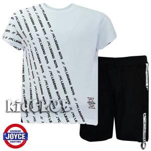 Σετ μπλούζα με βερμούδα παντελόνι αγόρι με στάμπα Boys Joyce