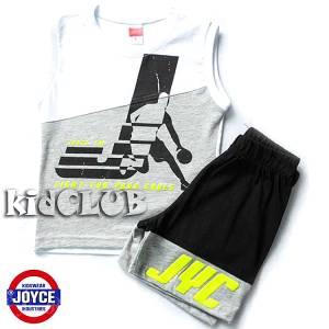 Σετ μπλούζα με βερμούδα παντελόνι αγόρι με στάμπα Jumball  Joyce
