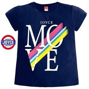 Μπλούζα κοντομάνικη κορίτσι σταμπωτή της Joyce