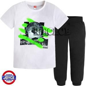 Σετ μπλούζα με μακρύ παντελόνι αγόρι με στάμπα Joyce