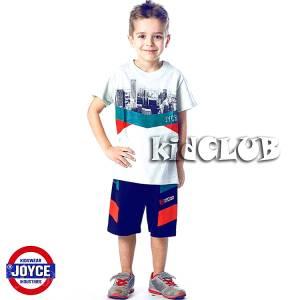 Σετ μπλούζα με βερμούδα παντελόνι αγόρι με στάμπα Urban Joyce