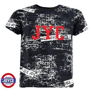 Μπλούζα με κοντό μανίκι για αγόρι σταμπωτό JYK Joyce