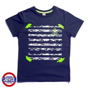 Μπλούζα με κοντό μανίκι για αγόρι σταμπωτό Wave Joyce