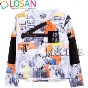 Μπλούζα μακρυμάνικη Street για αγόρι Losan