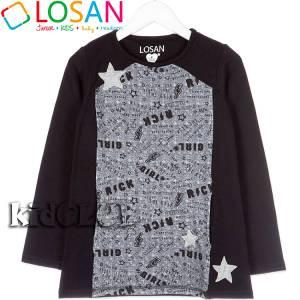 Φόρεμα φούτερ για κορίτσι Losan