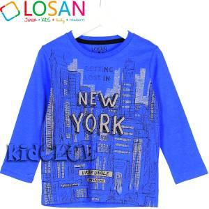 Μπλούζα μακρυμάνικη Lost για αγόρι Losan