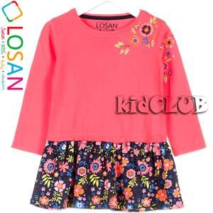Φόρεμα για κορίτσι Λουλούδια Losan