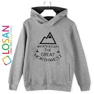 Μπλούζα φούτερ αγορίστικη με τύπωμα Northwest Losan