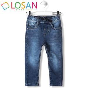 Παντελόνι τζιν μακρύ με λάστιχο στη μέση για αγόρι Losan