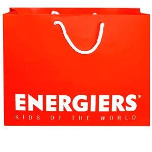 Συσκευασία δώρου, με το λογότυπο της  ENERGIERS