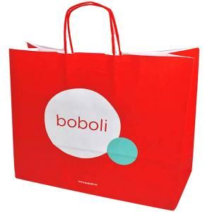 Συσκευασία δώρου, με το λογότυπο της BOBOLI
