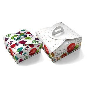 Χάρτινο κουτί πολυτελείας, με το λογότυπο της BOBOLI
