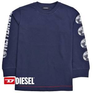 Μπλούζα μακρυμάνικη αγορίστικη με τύπωμα Living Diesel