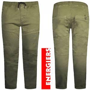 Παντελόνι μακρύ καμπαρντίνα με λάστιχο Regular fit για αγόρι Energiers