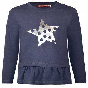 Μπλούζα μακρυμάνικη κοριτσίστικη με τύπωμα αστέρι Energiers