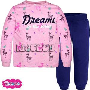 Πιτζάμα κοριτσίστικη Ελάφια DREAMS