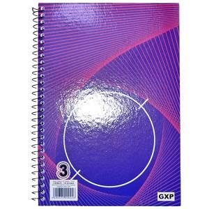 GXP Τετράδιο Σπιράλ A4 3 Θέματα