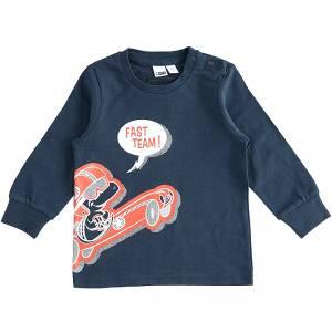 Μπλούζα μακρυμάνικη αγορίστικη με στάμπα Skor IDO