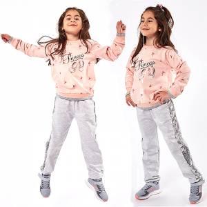 Φόρμα φούτερ κοριτσίστικη με στάμπα dance EBITA  Fashion