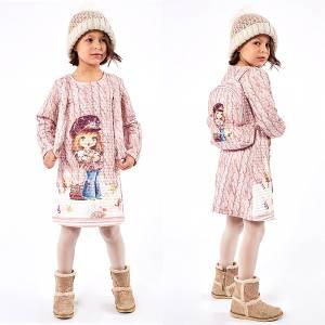 Φόρεμα κοριτσίστικο με τσάντα πλάτης Ebita fashion