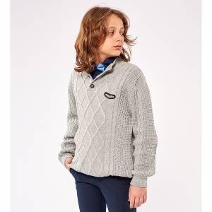 Πλεκτό πουλόβερ για αγόρι Hashtag