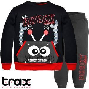Φόρμα φούτερ αγορίστικη με τύπωμα Engineer TRAX