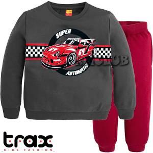 Φόρμα φούτερ αγορίστικη με τύπωμα Automatic TRAX